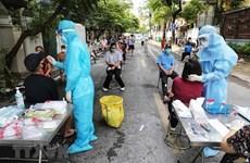 Hanoi records 10 COVID-19 cases on September 21 morning