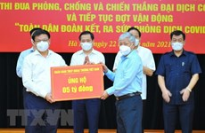State-owned firms donate close to 36 billion VND for COVID-19 fight