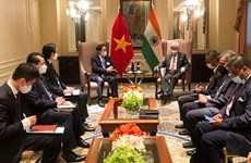 Foreign Minister Bui Thanh Son meets foreign counterparts in New York