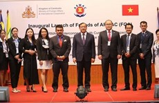 ASEAN Regional Mine Action Center launches FOA group