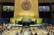 President's statement at general debate of UNGA's 76th session