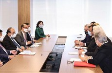 President receives representatives of US business associations, investors
