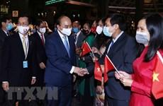 President meets representatives of Vietnamese community in US