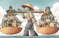 Winners of drawing contest about Hanoi announced