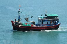 98.9 percent of fishing vessels in Ben Tre install monitoring devices
