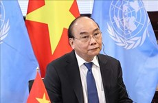 President applauds establishment of global health security financial fund