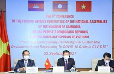 NA Committees for External Relations of Cambodia, Laos, Vietnam convene 8th conference