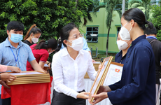 HCM City honours religious volunteers in COVID-19 fight