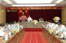 Vinh Phuc urged to intensify study, implementation of 13th National Party Congress' resolution