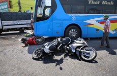 Traffic accidents, fatalities drop in nine months
