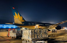 Vietnam Airlines completes longest flight for transporting vaccines