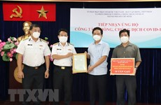 More medical equipment handed over to HCM City
