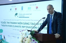 Youths' outstanding initiatives for climate honoured