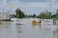 Thailand suffers from serious flooding