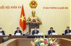 NA Chairman Vuong Dinh Hue meets US businesses
