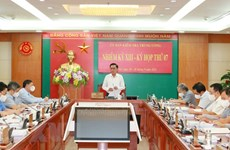 Disciplinary measure proposed for VCG Party Committee's Standing Board in 2015-2020 term