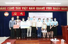 HCM City receives more aid for COVID-19 fight