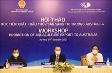 Vietnamese aquatic products gain favour in Australia