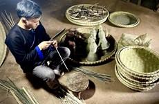 Preserving traditional bamboo handicrafts in Yen Bai