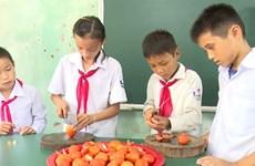 Self-sustaining school aids ethnic minority students