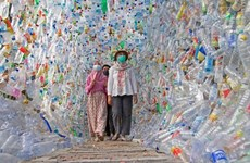 Indonesia: Museum made from plastics to raise public awareness of environment