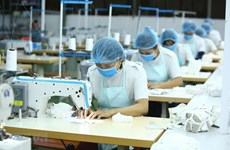 Hanoi-based businesses speed up production, export