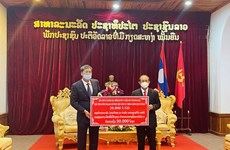 Hanoi lends support to Luang Prabang's pandemic fight