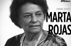 President pays floral tribute to Cuban journalist - writer Marta Rojas