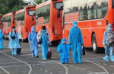 Southern localities work to support returnees from pandemic-hit areas
