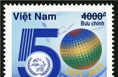 Stamp collection issued to celebrate 50 years of UPU International Letter Writing Competition
