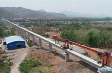 China-Laos railway to reduce time transporting goods from Laos to EU