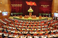 Fourth plenum of 13th Party Central Committee wraps up