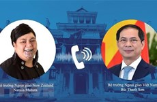 Vietnam, New Zealand foreign ministers hold phone talks
