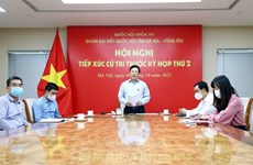 Deputy PM talks with voters in Ba Ria-Vung Tau