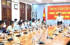 Quang Binh assists COVID-19 fight in Laos