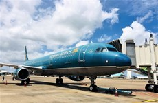 Vietnam Airlines operates seven flights on first day of domestic flight resumption