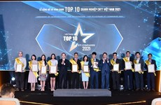 Winners of Top 10 Vietnam ICT Companies awards account for 61 percent of the country's ICT sector
