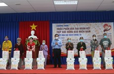 30,000 welfare packages delivered to pandemic-hit people in An Giang