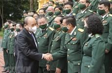 State leader lauds war veterans' business achievements, social responsibility