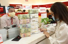 Reference exchange rate down 4 VND