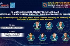 Hanoi to host Vietnam - Singapore forum for senior leaders in energy industry