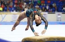 Vietnamese athletes arrive in Japan for World Artistic Gymnastics Championships