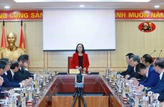 Party official meets newly-accredited ambassadors