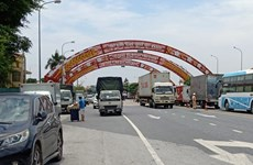 Thai Binh stops operation of COVID-19 checkpoints from October 17