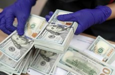 Reference exchange rate up 1 VND at week's beginning