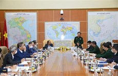 Deputy Defence Minister meets heads of Vietnamese rep. offices abroad