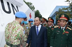 President commends contributors to UN peacekeeping mission