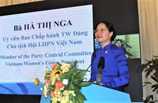 Seminar talks support to women in digital transformation