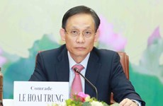 Party official meets new chiefs of Vietnamese representative agencies abroad