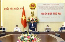 Issues of law-governed socialist State building discussed in detail